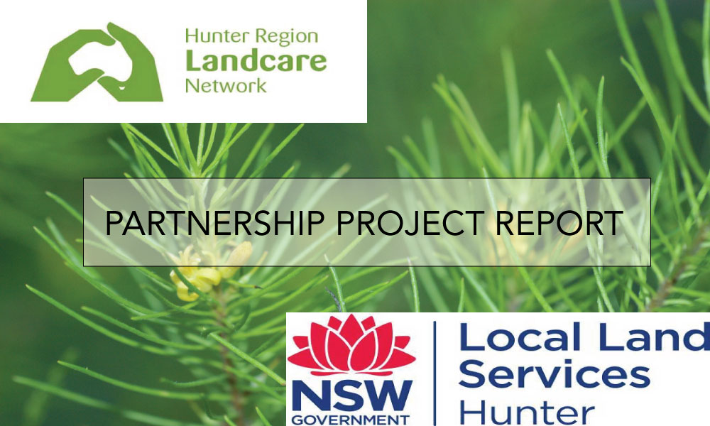 Hunter Region Landcare Network and Hunter Local Landcare Services Partnership Project