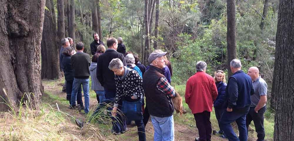 Wollombi Landcare Riparian Workshop 2016