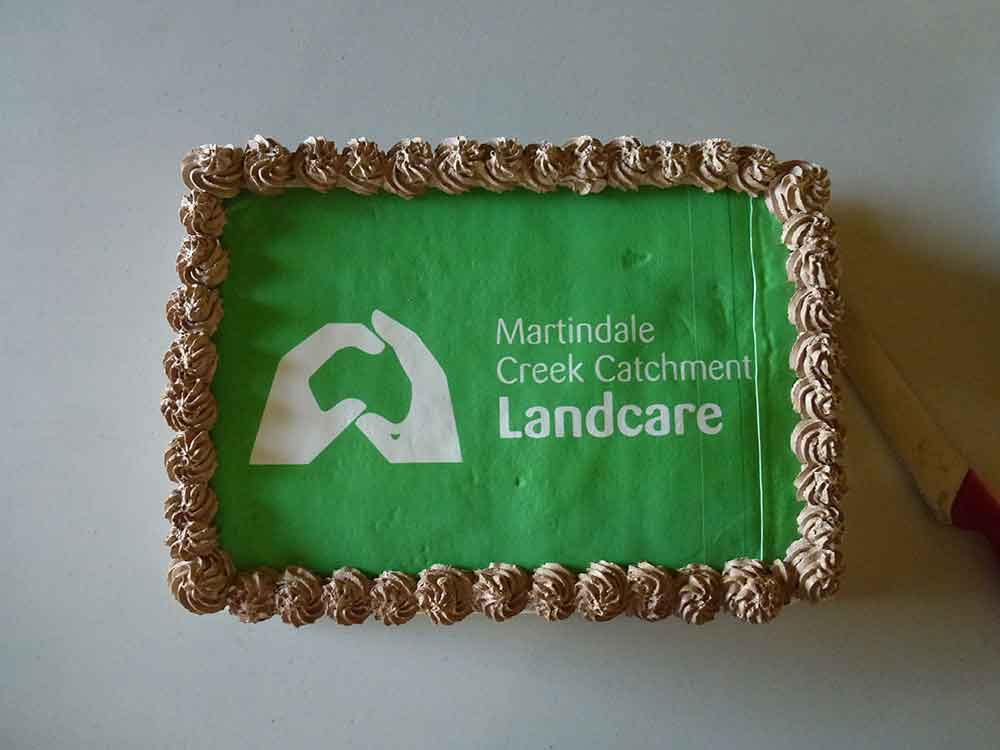 Martindale Creek Catchment Landcare 1st Birthday