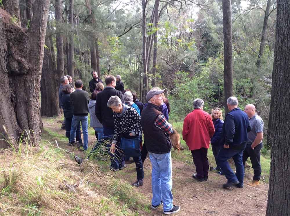 Project Partnership with HunterLLS – Wollombi Riparian Erosion Workshop Report