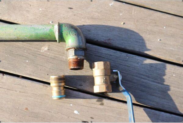 Water Lance using garden hose