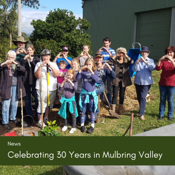 Celebrating 30 years of Landcare in the Mulbring Valley