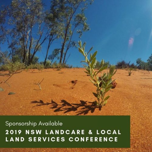 Sponsorship Available – 2019 NSW Landcare and Local Land Services Conference