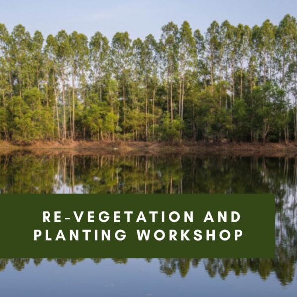 Re-vegetation and planting workshop