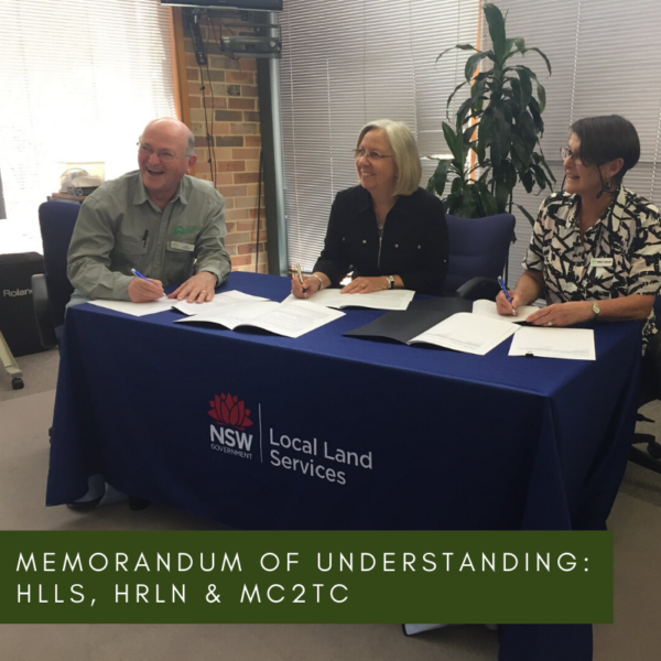 Memorandum of Understanding – HLLS, HRLN & MC2TC