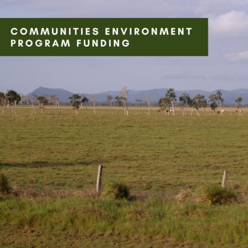 Communities Environment Program Funding