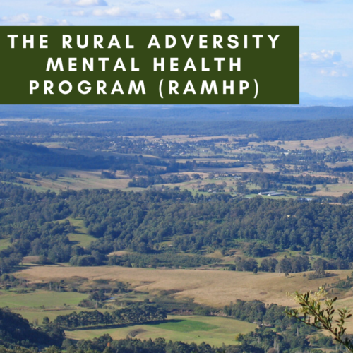The Rural Adversity Mental Health Program (RAMHP)