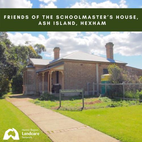 Friends of The Schoolmaster's House, Ash Island, Hexham