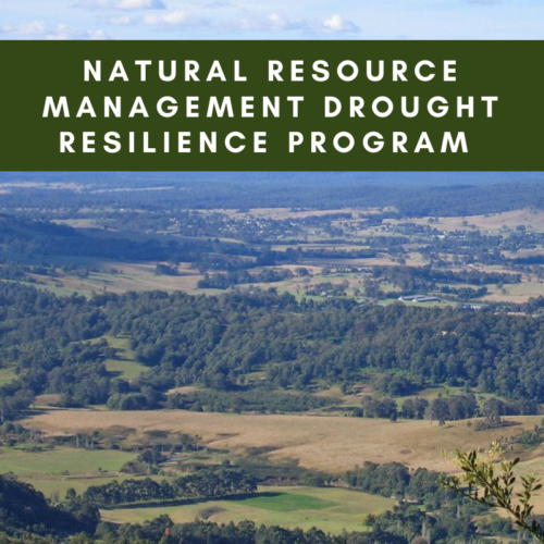Natural Resource Management Drought Resilience Program Grants