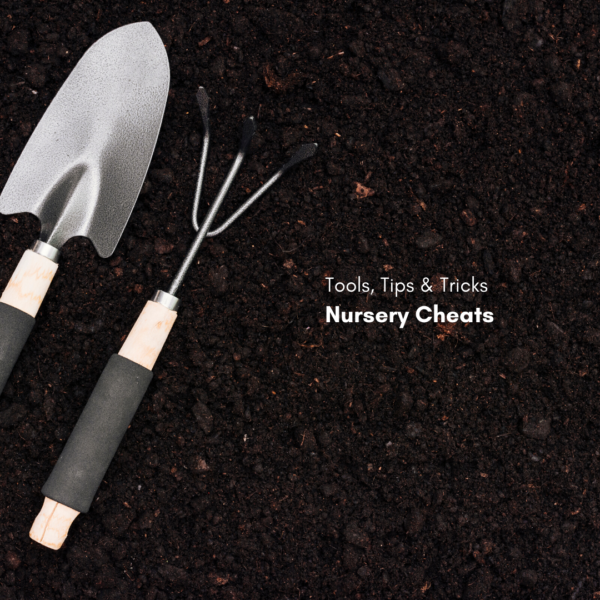 Tools, Tricks and Tips: Nursery Cheats