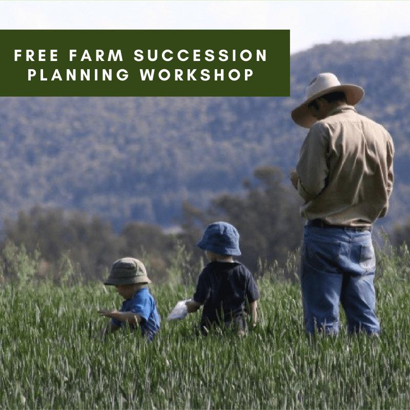 Free Farm Succession Planning Workshop – Scone