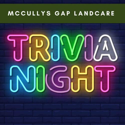 McCullys Gap Landcare trivia night