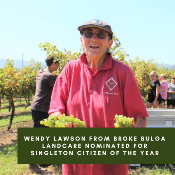 Wendy Lawson from Broke Bulga Landcare nominated for Singleton citizen of the Year