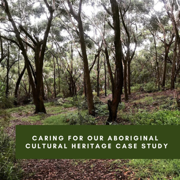 Caring for our Aboriginal Cultural Heritage Case Study