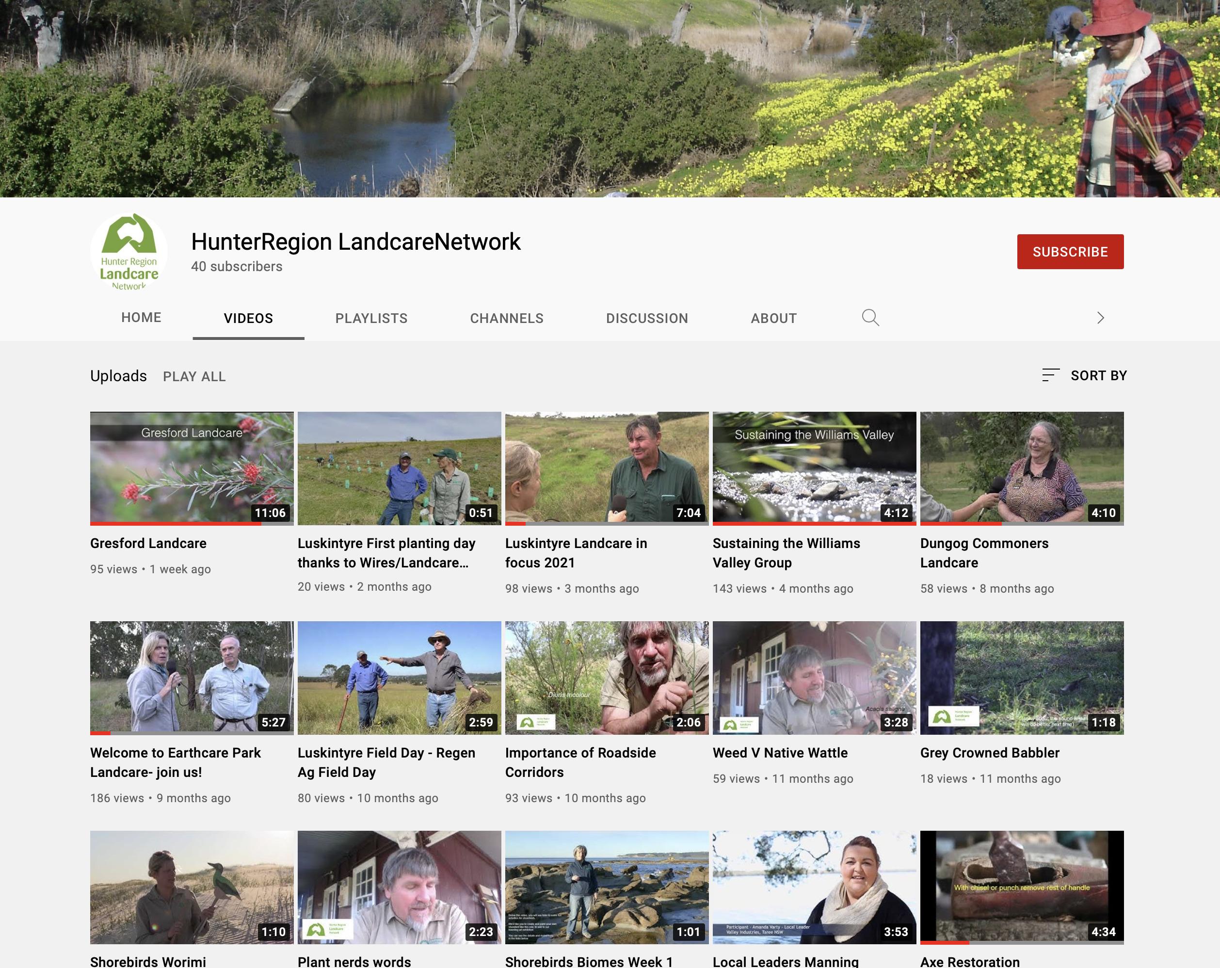 Hunter-Region-Landcare-Youtube