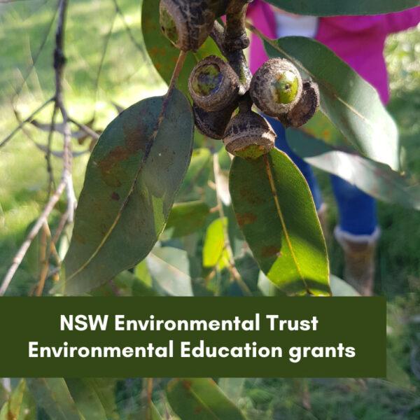 New NSW Environmental Trust Environmental Education Grants